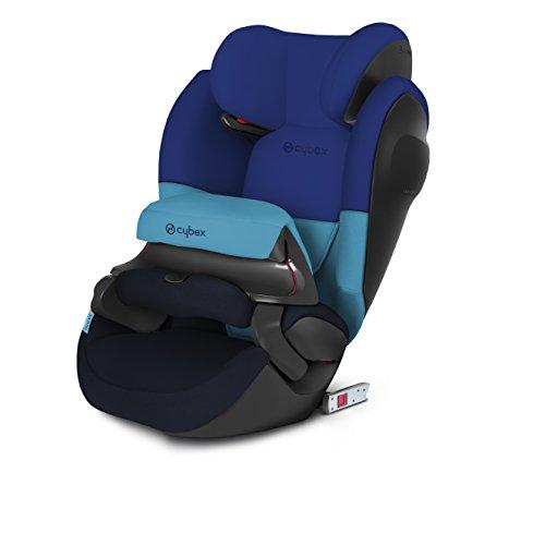 Preisvergleich Produktbild Cybex Silver Pallas M-fix SL, Autositz Gruppe 1/2/3 (9-36 kg), mit Isofix, Kollektion 2018, Blue Moon