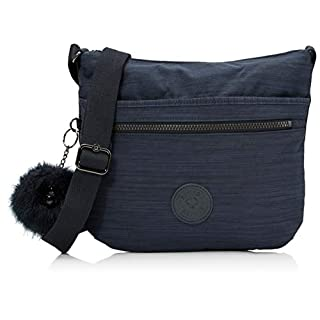 Kipling Arto, Women's Cross-Body Bag, Blue (True Dazz Navy), 15x24x45 cm (W x H x L)