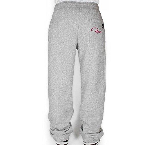 Redrum Jogginghose Sweatpants Hose Unisex Pant Bak Grau / Pink