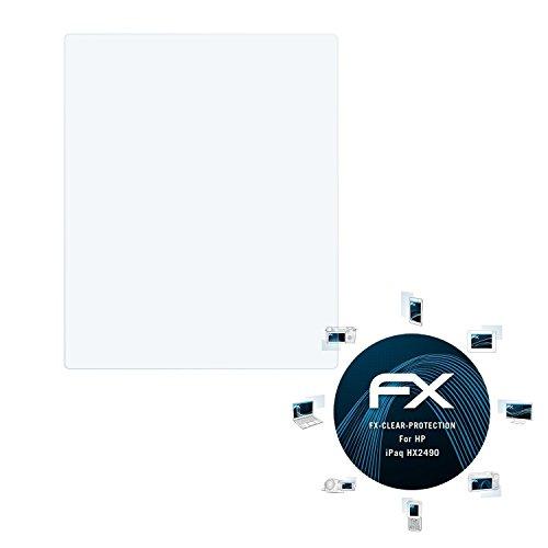 atFolix Schutzfolie kompatibel mit HP iPaq HX2490 Folie, ultraklare FX Displayschutzfolie (3X) -