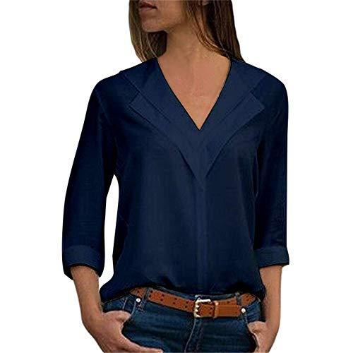 Fashion Nova T-Shirt da Donna a Maniche Lunghe e Manica Lunga, Autunno e Tinta Unita T-Shirt da Donna a Maniche Lunghe e Tinta Unita, Tinta Unit
