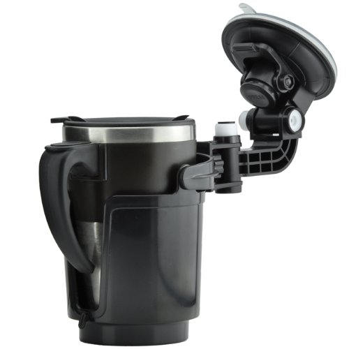 Universal KFZ Auto LKW Saugnapf Flaschenhalter Getränkehalter Dosenhalter Halter Halterung Flasche Dose Getränke (Saugnapf-getränk-halter)