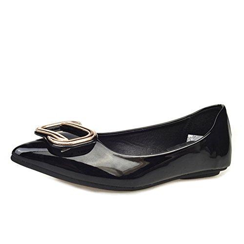 Fashion Lady pointu chaussures/Chaussures plates lumière sauvages/Souliers européennes et américaines pour dames B