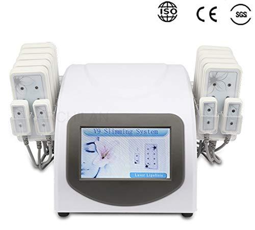 Vendita calda 5mw 650nm Lipo cellulite rimozione di cellulite rimozione bellezza macchina 14 pastiglie