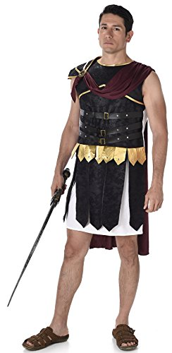 Griechische Kostüm Antike Soldat - Römischer Gladiator Soldat Herren Griechischer Grecian Warrior Kostüm Neu