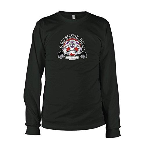 TEXLAB - DBZ: Frieza's Gym - Herren Langarm T-Shirt, Größe S, schwarz