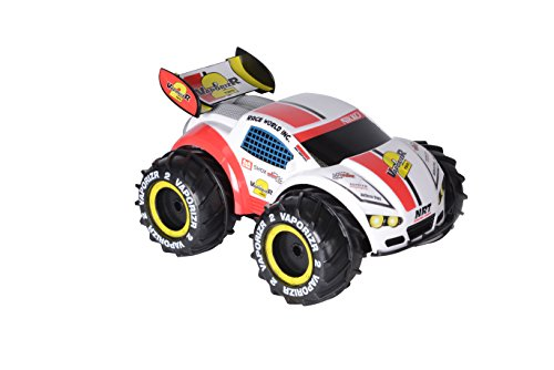 Hot Wheels-94157 Disney Coche teledirigido Radio Control 4x4, Color Rojo (Toy State 94157