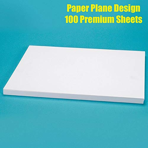 Paper Plane Design Set of 100 Sheet A4 size for...