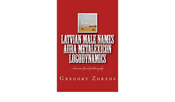Amazon in: Buy Latvian Male Names Aura Metalexicon