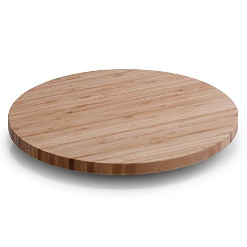 Zeller 25267 - Tabla giratoria de bambú (ø 35 x 3,7 cm)