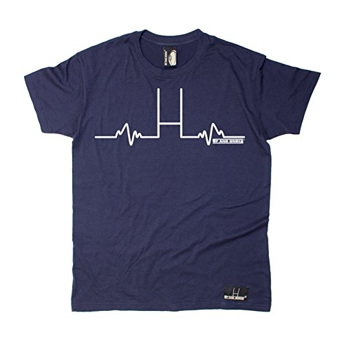 Premium Up and Under Men's Up and Under Rugby Goal posts Pulse T-Shirt/Rugby Fashion For him