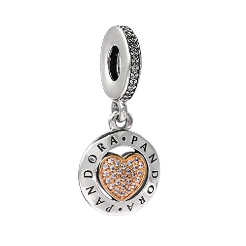 Pandora Damen -Bead Charms 925 Sterlingsilber 792082CZ