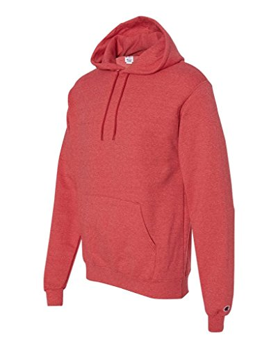 Champion Mens 50/50 EcoSmart Pullover Hood (S700) Rouge chiné