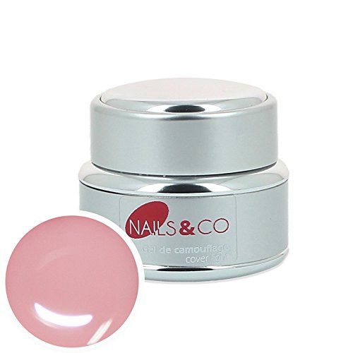 Nails & co - Gel uv de camouflage cover light Nails & Co - - 15 ml