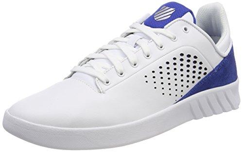 swiss Homme Bassi Blanc bianco Blu K Nova Scarpe Classico Da Tennis Ginnastica Da dxTnU0qpn8