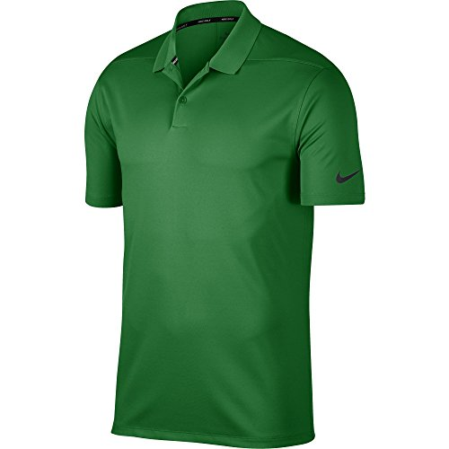Nike Herren Dri-Fit Victory Poloshirt, Classic Green/Black, L