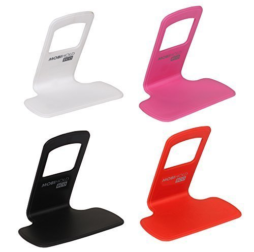 Riona 4 Pcs Wall Mobile Phone Holder/Shelf/Stand/Rack - Mobihold Eco Assorted