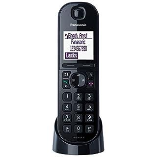 Panasonic KX-TGQ200GB DECT IP-Telefon, schnurlos, CAT-iq 2.0 kompatibel, digitales Telefon, schwarz