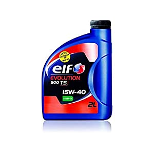 Elf huile moteur evolution 500 ts 15w40 – 2 l