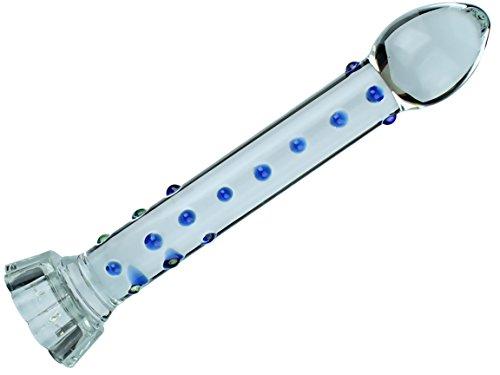 G48 SINNLICH - Glass Dildo / Anal Butt Plug Diode LED ____ ____ BESTSELLER PYREX GLASS ** LED !!!!