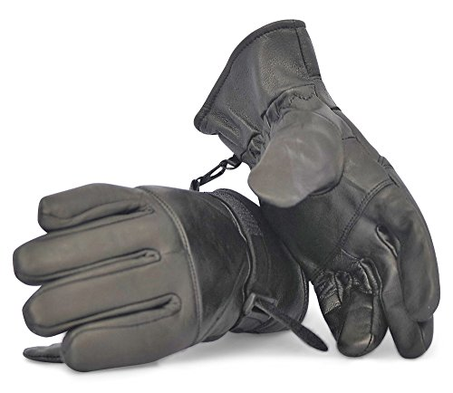 black-sheepskin-leather-gloves-stay-warm-look-stylish-ultra-comfortable-fleece-lining-for-lasting-wa