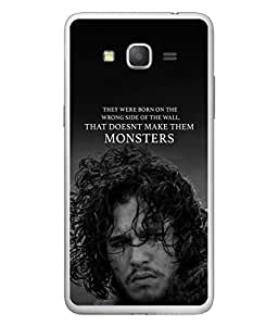 PrintVisa Designer Back Case Cover for Samsung Galaxy Grand Max G720 (The Monsters Cool Design)