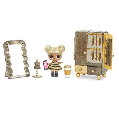 MGA- Meubles L.O.L Boutique avec la poupée Queen Bee et 10+ Surprises Toy, 564119E7C, Multicolore