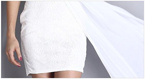 KingField - Robe - Moulante - Femme taille unique Blanc