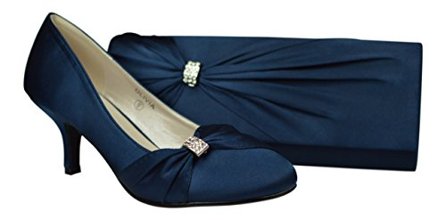 chic-feet-womens-navy-blue-satin-wedding-bridal-prom-bridesmaid-low-heel-ladies-party-court-shoes-ma