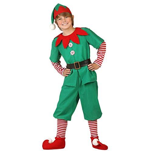 7acb697d6058d LMMVP Bébé LianMengMVP Costumes de Noël Costume de Lutin de Noël Enfant  Cosplay Vêtement Déguisement Parent