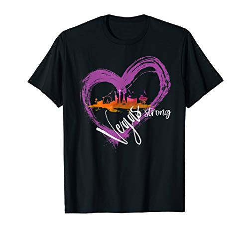 Welcome to Las Vegas the Fabulous City Vegas Strong T-Shirt -