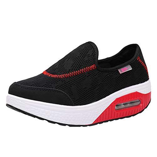 Dtuta Chaussures De Plein Air Pour Femme, Chaussures De Sport DéContractéEs Pour Femmes, Chaussures De Sport à Semelles éPaisses, Chaussures De Sport, Baskets