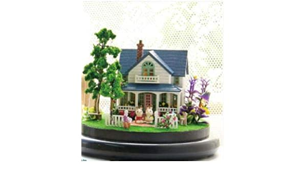 Buy DIY Cottage Handmade Small House Villa Model Toy, Romantic Manor