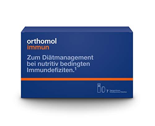 Orthomol immun 7 Trinkampullen & Tabletten - Vitamine & Spurenelemente - Komplex zur Unterstützung für das Immunsystem -