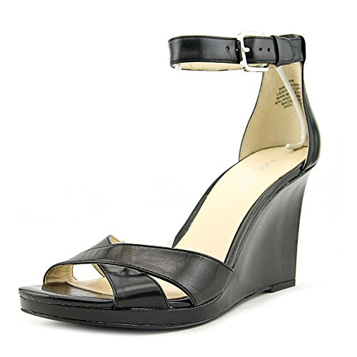 Nine West Medano Donna US 9 Nero Scarpa con la Zeppa