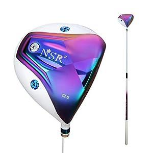 HJJGRASS PGM Club de Golf Carbon-Golf No.1 Wood Golf Club Titan-Legierung Schlägerkopf,D