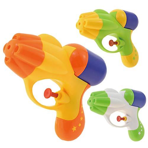 Angoter Wasserpistole Squirt Blaster Soaker Pistole Pool Beach Party Favors Wasser Warfare Kampfspiele Für Jungen-Mädchen (Zufällige Farbe)