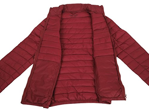 Teddy Smith Blight, Manteau Homme Rouge