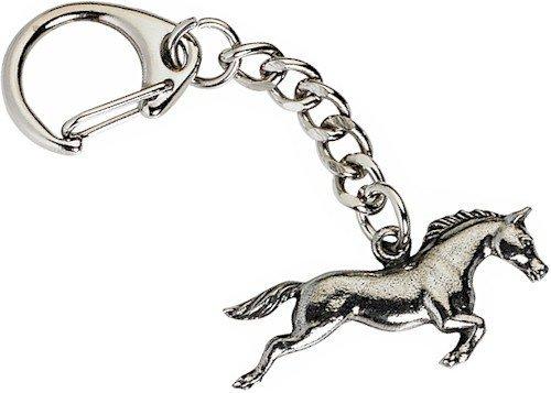 Horse Key-ring, Keychain in Fine English Pewter, Handmade