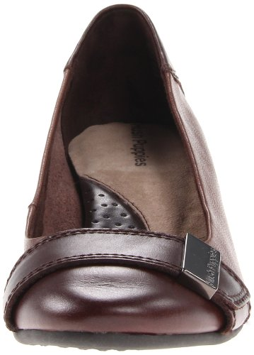 Hush Puppies Candid o la pompa Dark Brown