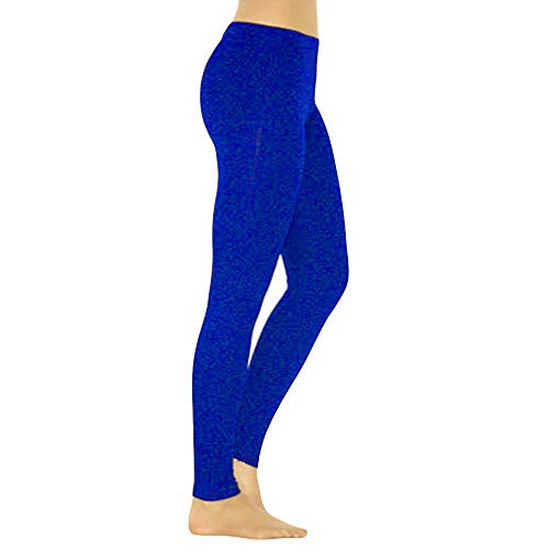 Baumwolle Thermische Stricken Pants (Frashing Leggings Stricken Weichem Warmen Schwarz Thermo Strumpfhose Damen Hohe Taille Sport Freizeithose Jogginghose Fitness Sportswear)