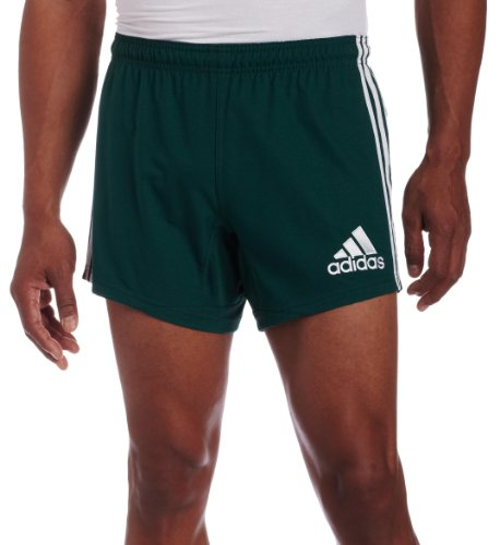 Adidas 3 Streifen Short SHO (P00706) FOREST/WHITE (ADI02), Größe:M;Farbe:grün