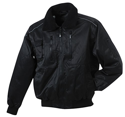 JAMES & NICHOLSON 3 in 1 Herrenjacke im Blousonstil Black