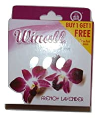 Winall Air Freshener 50 gms French Lavender Buy 4 get 4 free