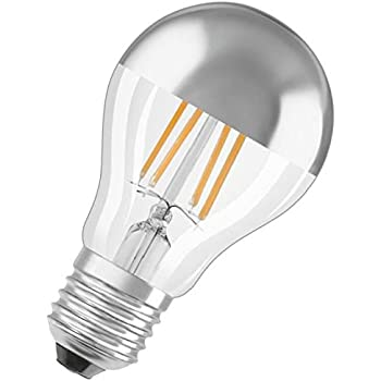 osram led star classic a mirror led kopfspiegellampe in kolbenform mit e27 sockel nicht. Black Bedroom Furniture Sets. Home Design Ideas