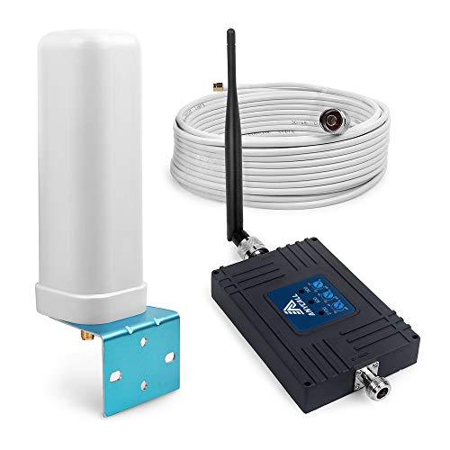 Handy Signalverstärker für T-Mobile D1 Vodafone D2 E-Plus 2G 3G 4G Verstärker 800/900/2100 MHz Band 20/8/1 70dB GSM LTE Repeater (Handy-verstärker 3g)