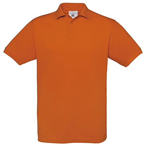 B&C CollectionHerren Poloshirt Orange - Pumpkin Orange