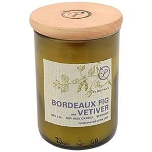 Paddywax Ecogreen Bordeaux Figue Et Vétiver Bougie Parfumée - Paquet De 6