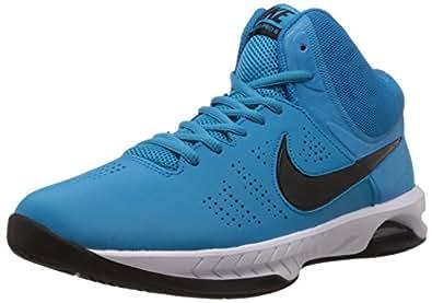 Nike Men's Air Visi Pro VI Blue Lagoon,Black,Light Blue Liquor,White  Basketball Shoes -9 UK/India (44 EU)(10 US)