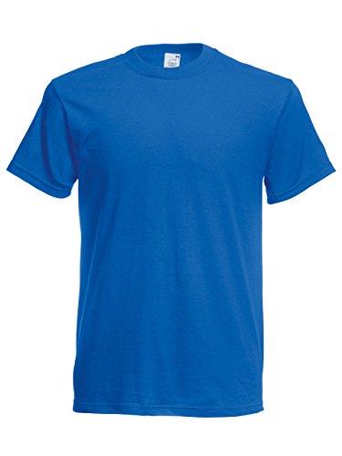 T-Shirt Wonderful Premium von Fruit of the Loom Weiss L